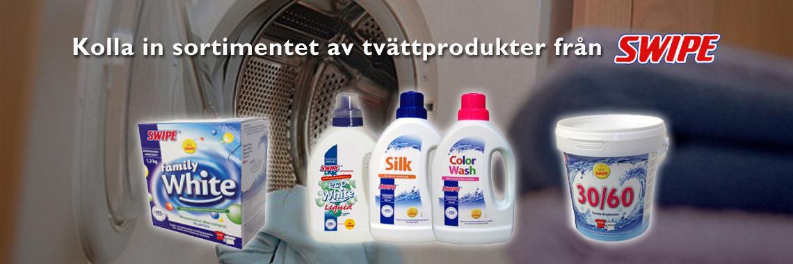 Swipe Tvättprodukter